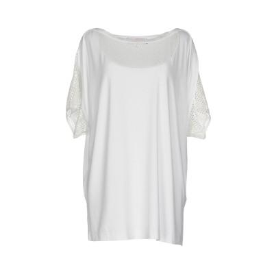 SEVERI DARLING T シャツ ホワイト 52 レーヨン 95% / ポリウレタン 5% / ポリエステル T シャツ