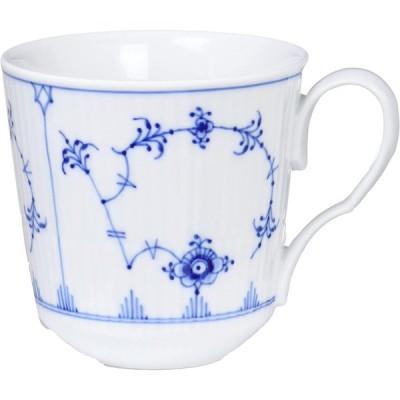 【正規輸入品】ロイヤルコペンハーゲン ブルーフルーテッド プレイン マグカップ M 350ml 結婚祝い プレゼント 1017178