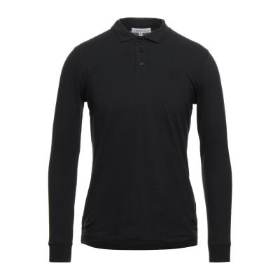ハマキホ HAMAKI-HO ポロシャツ ブラック S コットン 95% / ポリウレタン 5% ポロシャツ
