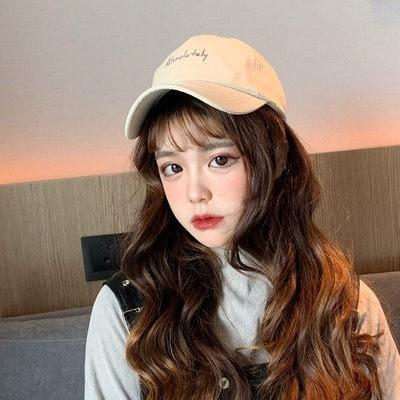 帽子 男性秋 冬 野球帽 レジャー 韓国版 ファッション ins ヒップホップ 帽子 パーフェクト 女性 冬 ファッション ハンチング帽