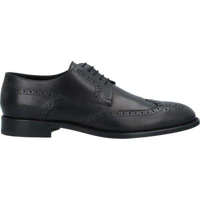 ネルソン NELSON メンズ 革靴・ビジネスシューズ シューズ・靴 Laced Shoes Black