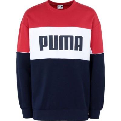 プーマ PUMA メンズ スウェット・トレーナー トップス retro crew dk Blue