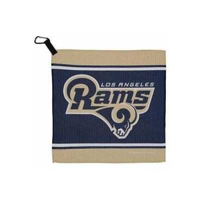 """フットボール NFL WinCraft Los エンジェルes Rams 13"""" x 13"""" Waffle タオル"""