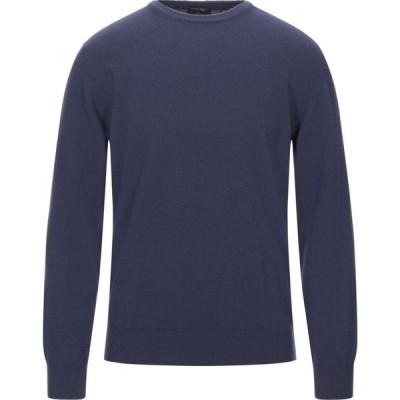 ザニエリ ZANIERI メンズ ニット・セーター トップス Sweater Purple