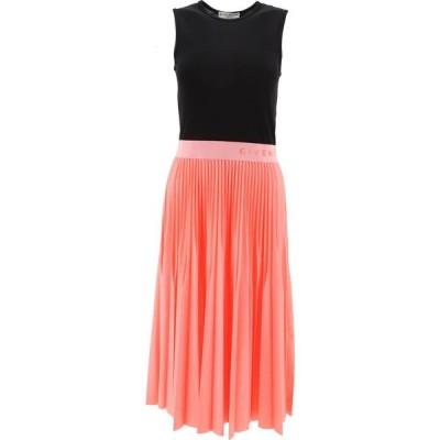 ジバンシー Givenchy レディース ワンピース ノースリーブ ワンピース・ドレス Sleeveless Dress With Pleated Skirt Black