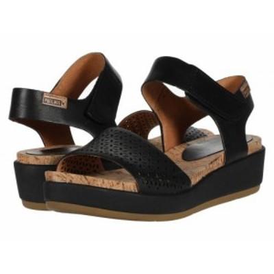 Pikolinos レディース 女性用 シューズ 靴 ヒール Mykonos W1G-1733C1 Black【送料無料】