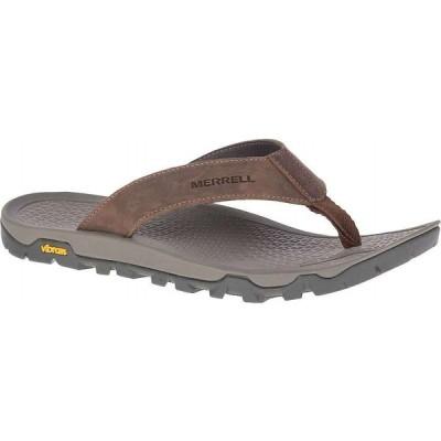 メレル Merrell メンズ ビーチサンダル シューズ・靴 Breakwater LTR Flip Flop Brown