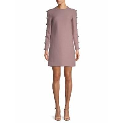 ヴァレンティノ レディース ワンピース Long-Sleeve Shift Dress