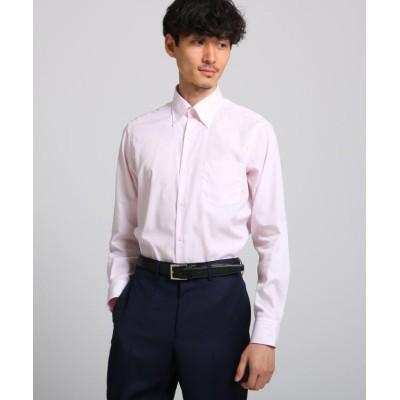 【タケオキクチ】 クラスターストライプシャツ メンズ ベビーピンク 03(L) TAKEO KIKUCHI