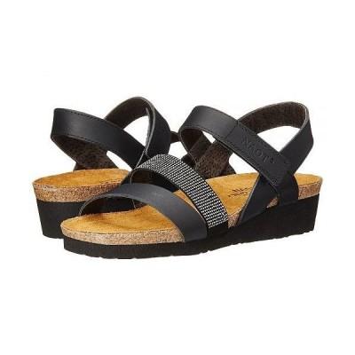 Naot ナオト レディース 女性用 シューズ 靴 サンダル Krista - Black Matte Leather