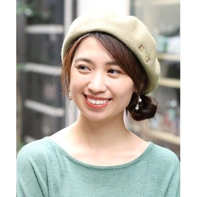チチカカ / モチーフ刺繍ベレー帽 WOMEN 帽子 > ハンチング/ベレー帽