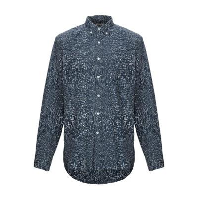 オベイ OBEY シャツ ダークブルー XL コットン 100% シャツ