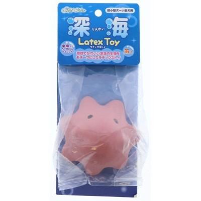 ペティオ:深海ラテックストイ メンダコ 犬用 用品 おもちゃ 玩具 ラテックス ボール 音 小型犬