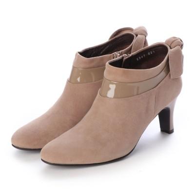 シューズラウンジ shoes lounge ブーティ 2023474GYBGS (グレーベージュ)