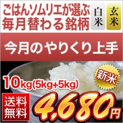 令和2年(2020年) 新米 【白米・玄米セット】香川県産 あきさかり 10kg(5kg×2袋)【送料無料・令和2年度産】 【10月のやりくり上手