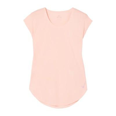 ナイキ NIKE T シャツ ライトピンク S ポリエステル 100% T シャツ
