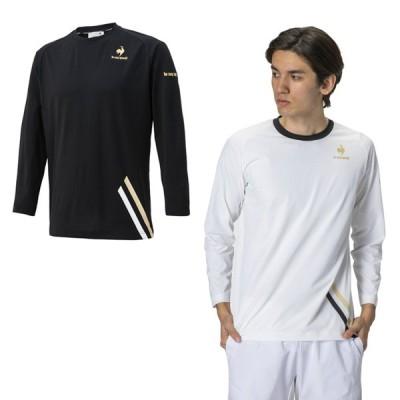 ルコック le coq sportif テニスウェア Tシャツ 長袖 メンズ 長袖シャツ QTMSJB00