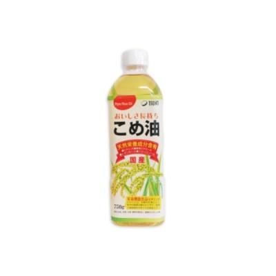 築野食品 こめ油 750g TSUNO 栄養機能食品ビタミンE