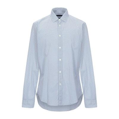 ブライアン デールズ BRIAN DALES シャツ ブルー 43 コットン 100% シャツ