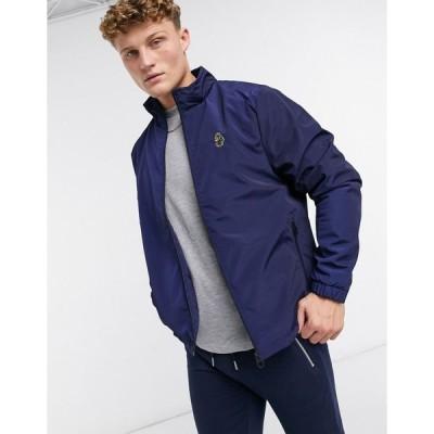 ルーク1977 ジャケット メンズ Luke wild eagle harrington jacket  エイソス ASOS sale ネイビー 藍