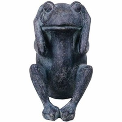動物オーナメント きかざる かえる(11053)(ブルー)