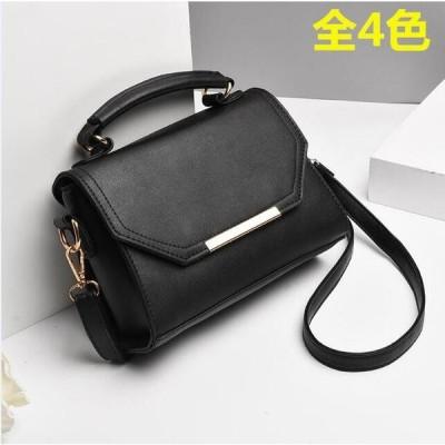 pu生地 無地 エレガント シンプル 韓国風 4色 ショルダーバッグ レディースハンドバッグ OL 通勤バッグ 斜め掛け 鞄カバン