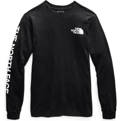 ザ ノースフェイス The North Face メンズ 長袖Tシャツ トップス tnf sleeve hit l/s t-shirt TNF Black