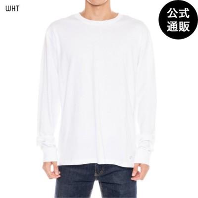 OUTLET 2019 RVCA ルーカ メンズ BACK RVCA LS TEE ロングスリーブTシャツ WHT 全1色 S/M/L/XL rvca