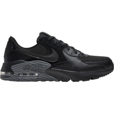 ナイキ スニーカー シューズ メンズ Nike Men's Air Max Excee Shoes Blk/Blk/DkGry