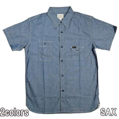 PHERROWS 750WSS 半袖ワークシャツ シャンブレー フェローズ