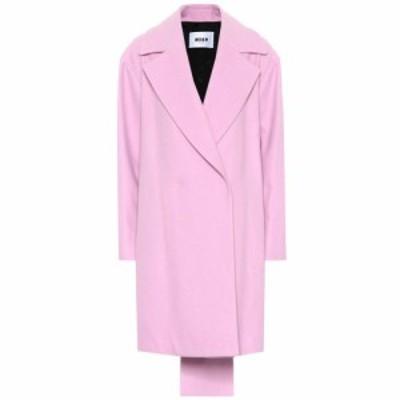 エムエスジーエム MSGM レディース コート アウター wool-blend coat