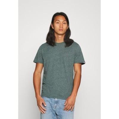 トムテイラー メンズ Tシャツ トップス COSY GRINDLE  - Basic T-shirt - stroke green stroke green