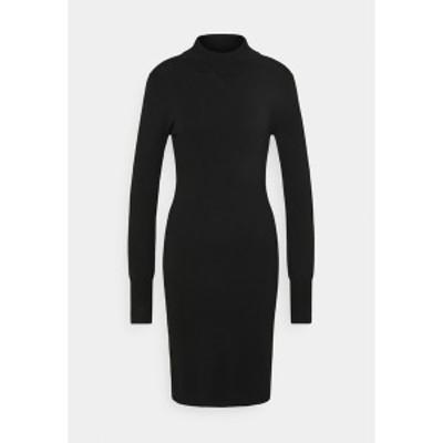 カフェ レディース ワンピース トップス EVA ASTRID DRESS - Jumper dress - black deep black deep