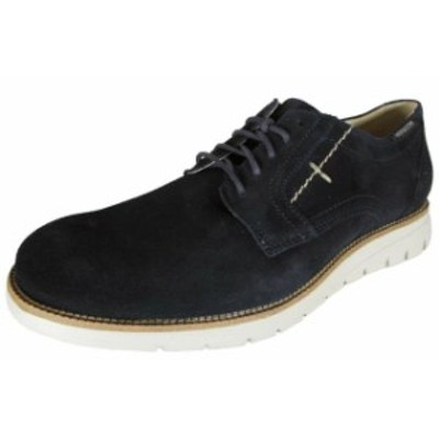 Mephisto メフィスト ファッション シューズ Mephisto Mens Board Lace-Up Solid Toe Derby Shoes