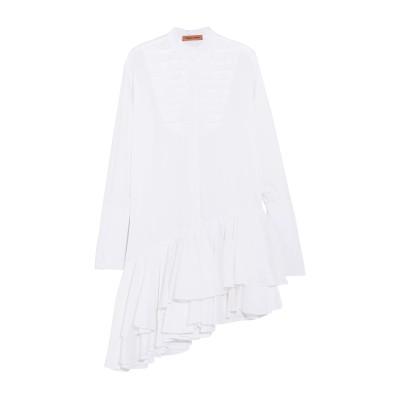 MAGGIE MARILYN ミニワンピース&ドレス ホワイト 6 コットン 100% ミニワンピース&ドレス