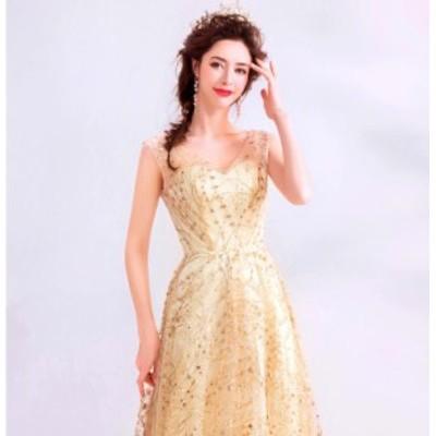 花嫁ウェディングドレス/結婚式礼服/パーティードレス/ワンピース/ドレス ロングスカート/イブニングドレス/披露宴
