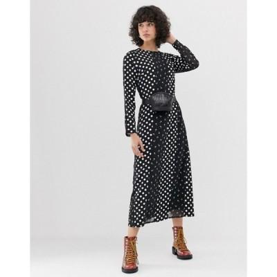 ロストインク レディース ワンピース トップス Lost Ink midaxi column dress in mixed print