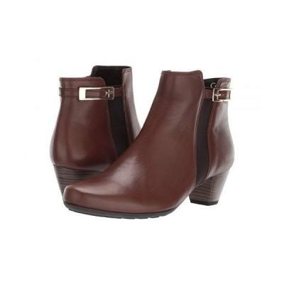Gabor ガボール レディース 女性用 シューズ 靴 ブーツ アンクル ショートブーツ Gabor 92.826 - Brown