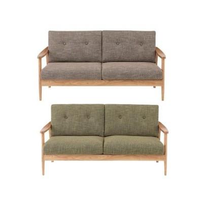 ソファー 3人掛けソファー 3人用   布張り製