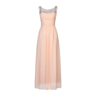 NO SECRETS ロングワンピース&ドレス キャメル 40 ポリエステル 100% ロングワンピース&ドレス