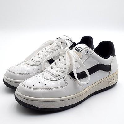 送料無料 バンズ VANS 靴 シューズ スニーカー ローカット V2001GS エリアン ELIAN レザー US 6H 24.5cm オフホワイト系 レディース