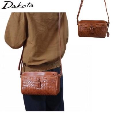 ダコタ DAKOTA レディースバッグ ネルソン 牛革メッシュ斜め掛けができるショルダーバッグ 1034133-45