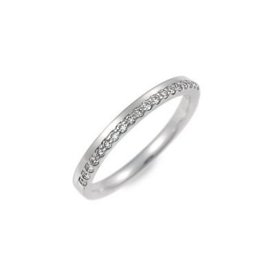 ホワイトゴールド リング 指輪 ダイヤモンド 名入れ 刻印 彼女 プレゼント ミルパンセ 誕生日 送料無料 レディース