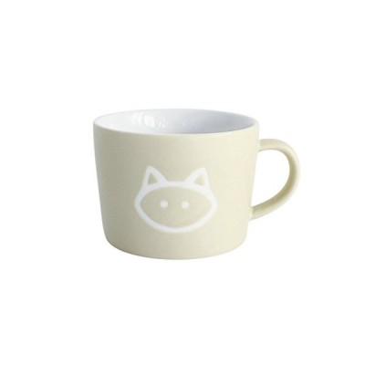 SPICE OF LIFE(スパイス) キッズ陶器マグカップ プチママン キャット ベージュ 200ml 箱入り 離乳食 子供用 SFPY1601
