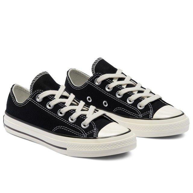 CONVERSE CHUCK 70 OX BLACK/BLACK/EGRET 兒童/青少年 休閒鞋 黑