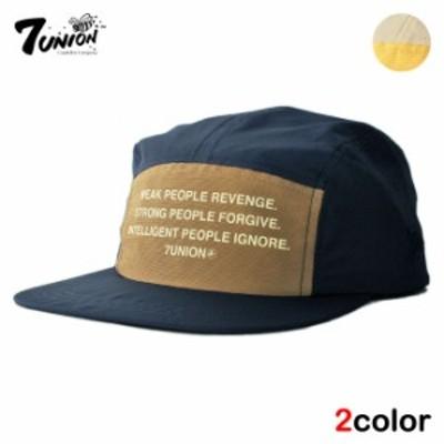 セブンユニオン 7UNION キャンプキャップ ストラップバック 帽子 メンズ レディース フリーサイズ [ 翌日お届け ] [ nv lbw ]