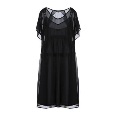 ツインセット シモーナ バルビエリ TWINSET ミニワンピース&ドレス ブラック 42 ポリエステル 100% ミニワンピース&ドレス