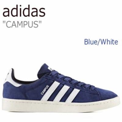 アディダス スニーカー adidas メンズ レディース CAMPUS キャンパス Blue Running White Chalk White BZ0086 シューズ