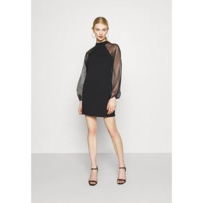 ピーシーズ ワンピース レディース トップス PCNALLY DRESS - Cocktail dress / Party dress - black
