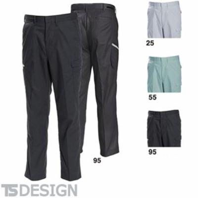 TS Design 藤和 1603 冷却ノータックカーゴ メンズ 春夏 作業服 作業着 ポケット付き ボトムス
